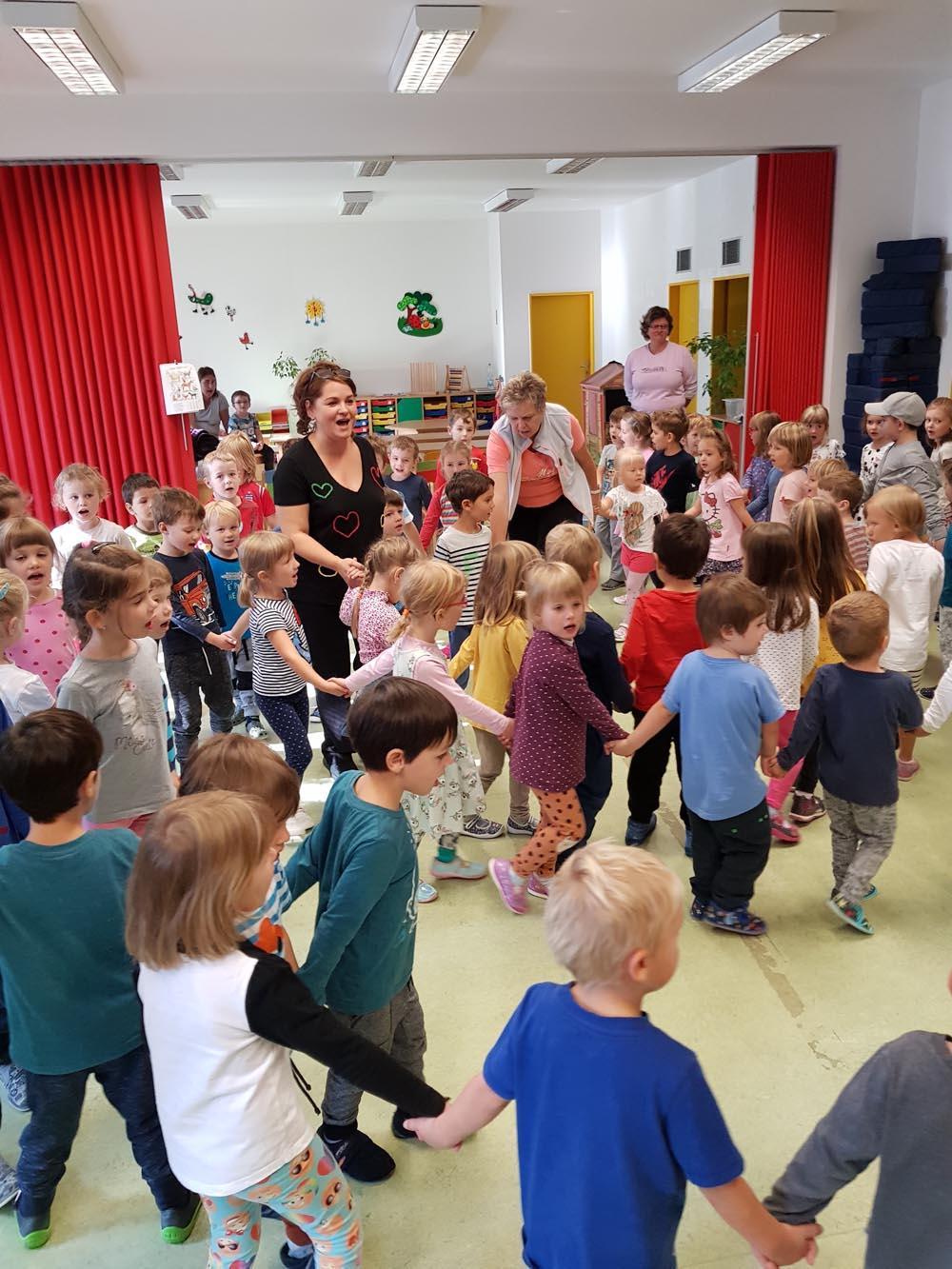 Vystoupení s dětmi